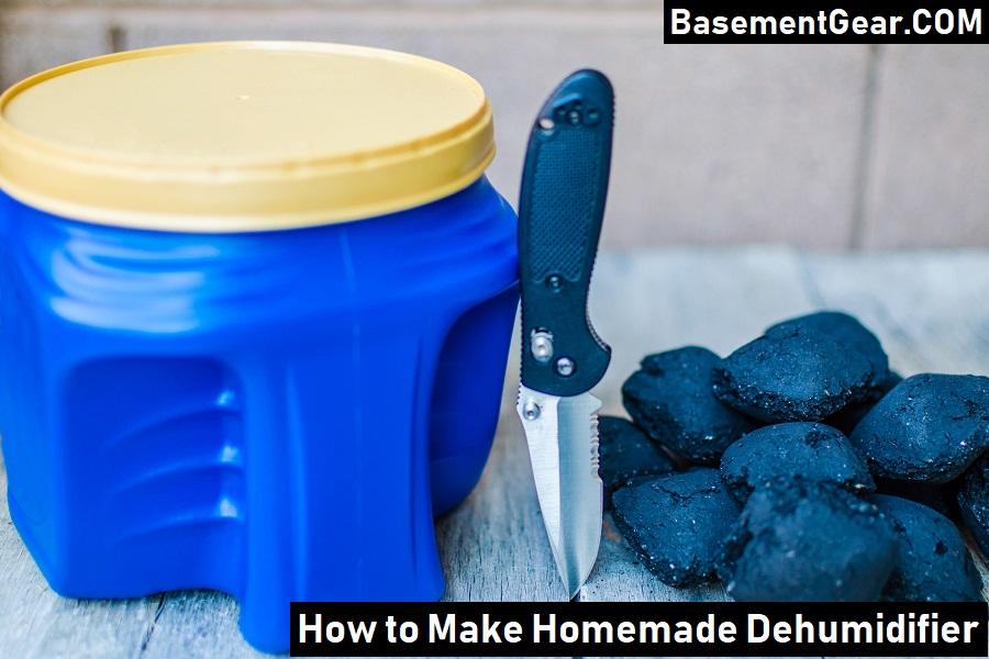 How to made DIY Homemade Dehumidifier