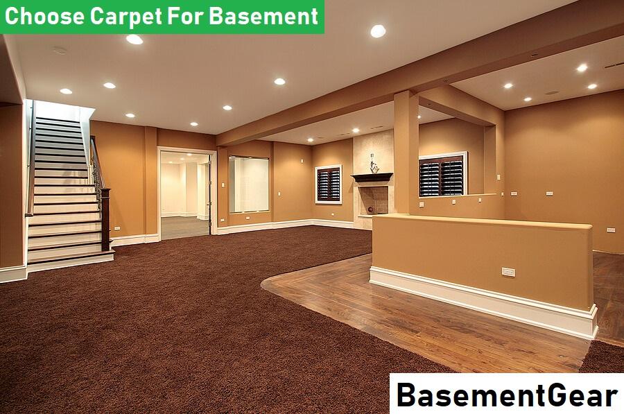 Choose Carpet For Basement