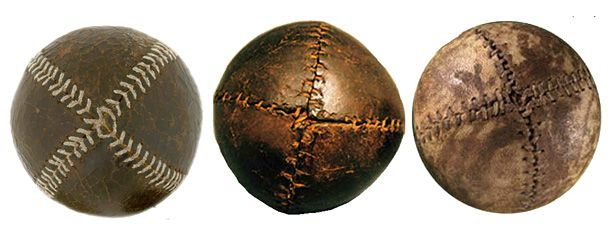 History of stitching on a baseball