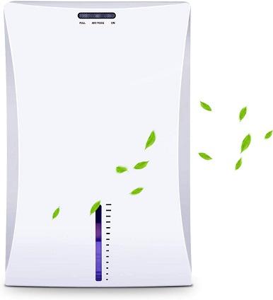 LATITOP Small Dehumidifier, Electric Home Dehumidifier