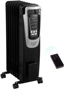PELONIS Electric 1500W Oil Filled Radiator Heater