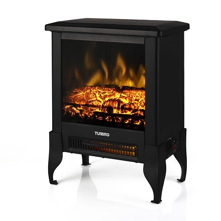 TURBRO Suburbs Electric Fireplace Heater