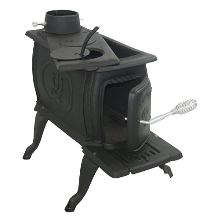 US Stove Company Cast Iron Logwood Stove